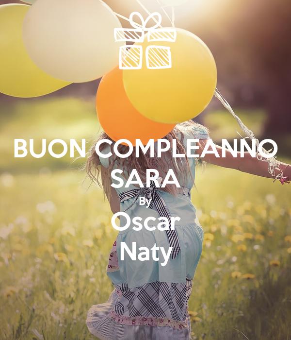 BUON COMPLEANNO SARA By Oscar Naty