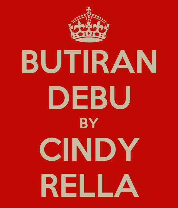 BUTIRAN DEBU BY CINDY RELLA