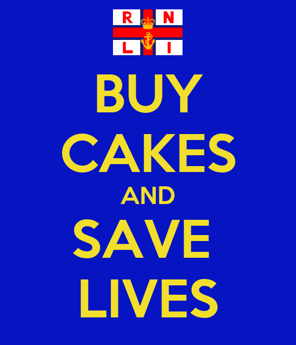 BUY CAKES AND SAVE  LIVES