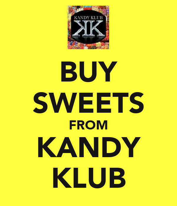 BUY SWEETS FROM KANDY KLUB