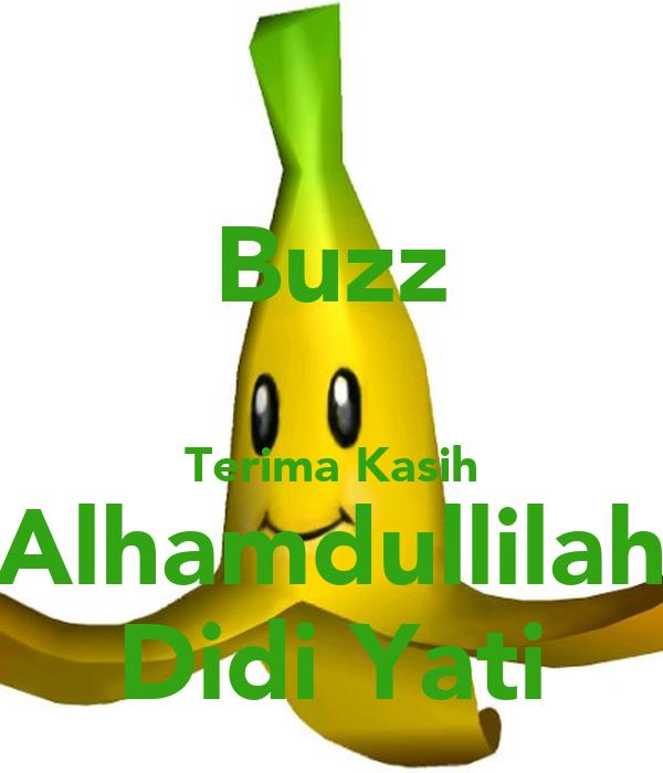 Buzz  Terima Kasih Alhamdullilah Didi Yati