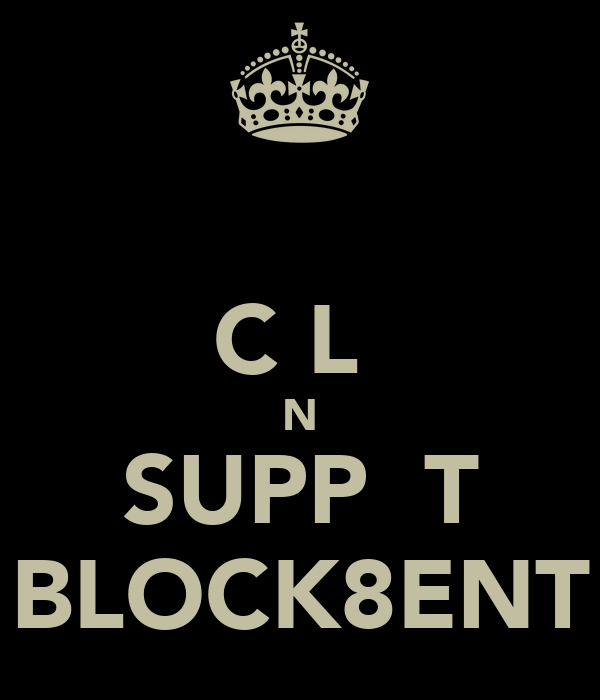 ΚƎƎƤ CƋLΜ ƋNĐ SUPPΟŖT BLOCK8ENT
