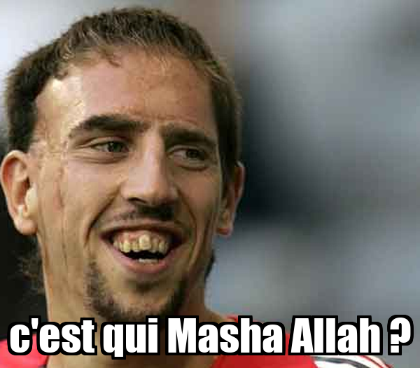 c'est qui Masha Allah ?