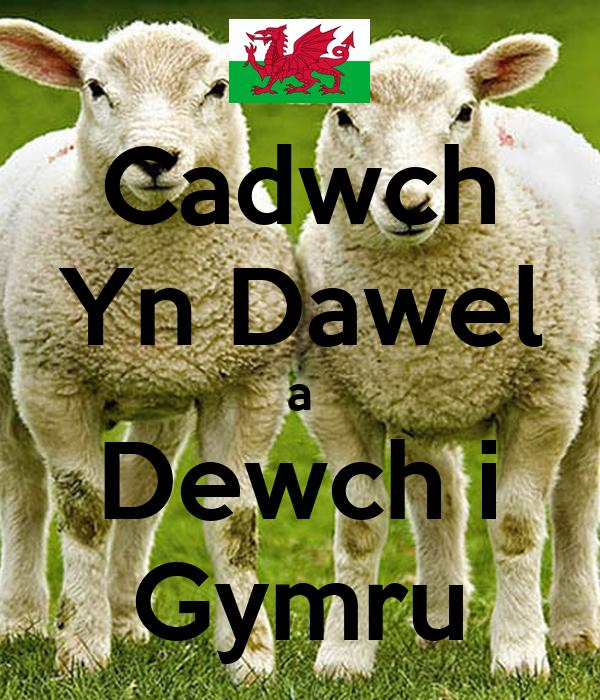 Cadwch Yn Dawel a Dewch i Gymru