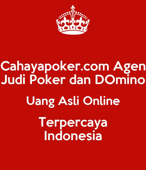 Poker judi uang asli terpercaya