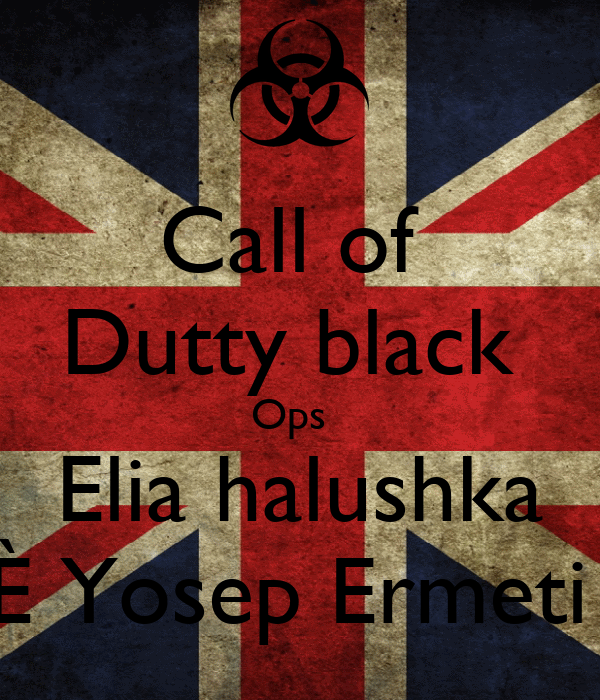 Call of  Dutty black  Ops   Elia halushka È Yosep Ermeti