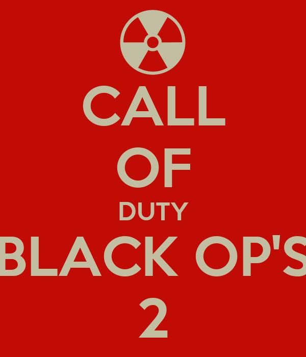 CALL OF DUTY BLACK OP'S 2