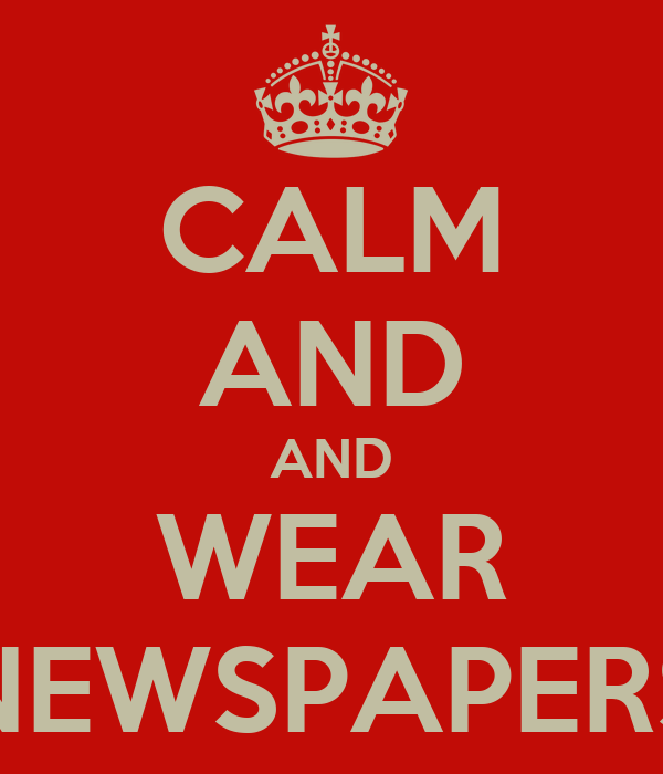 CALM AND AND WEAR NEWSPAPERS