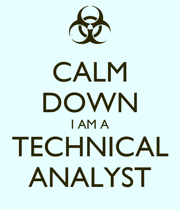 CALM DOWN I AM A TECHNICAL ANALYST