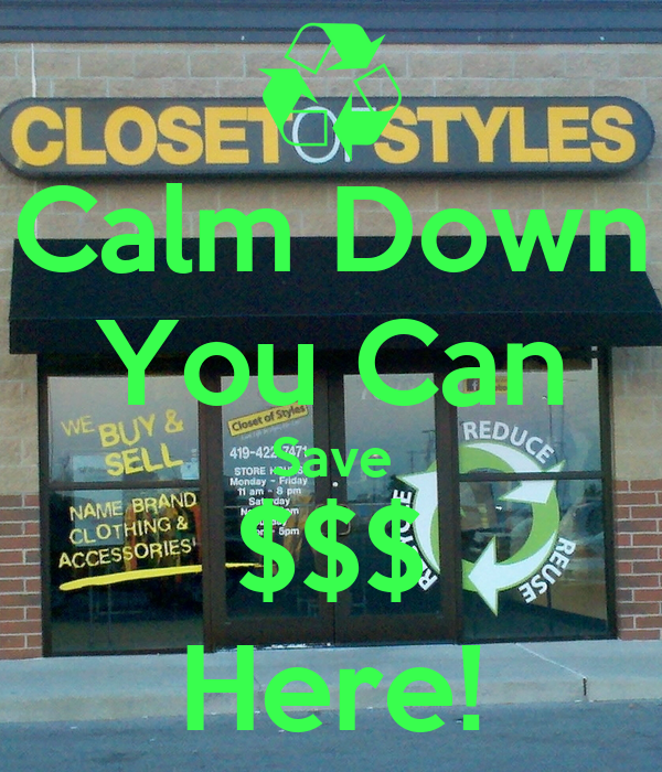 Calm Down You Can Save $$$ Here!