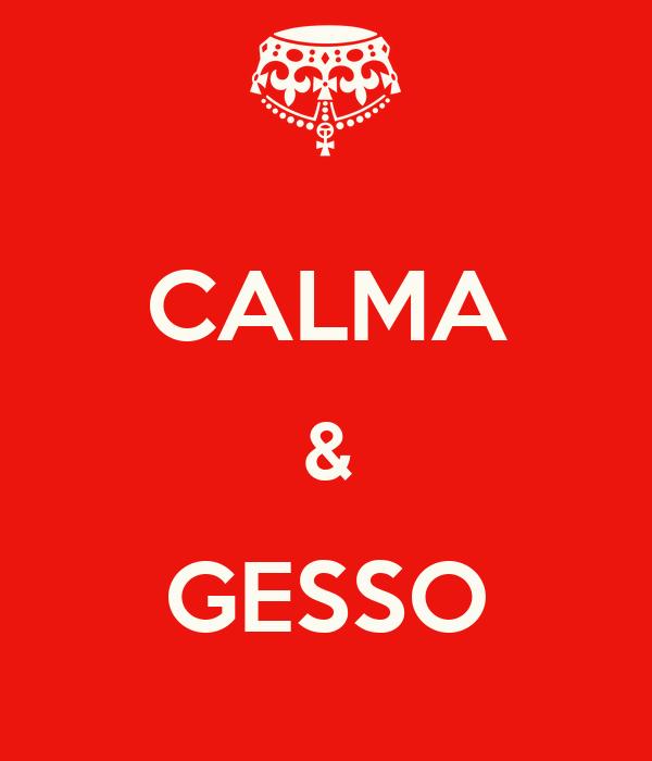 CALMA & GESSO