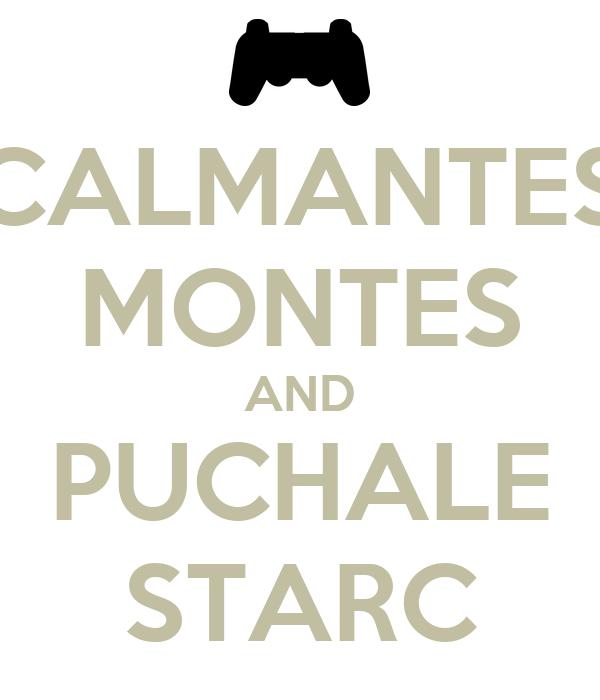 CALMANTES MONTES AND PUCHALE STARC