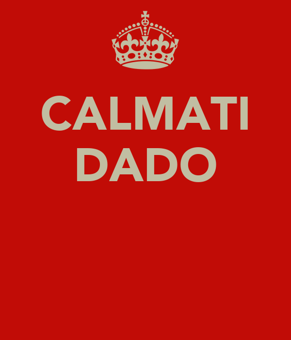 CALMATI DADO
