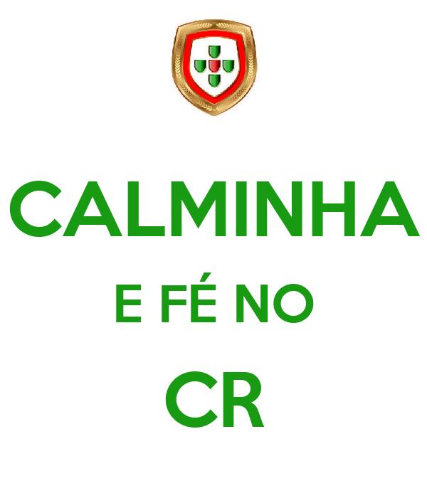CALMINHA E FÉ NO CR