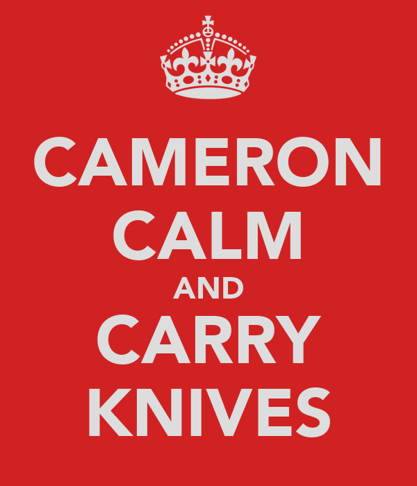 CAMERON CALM AND CARRY KNIVES
