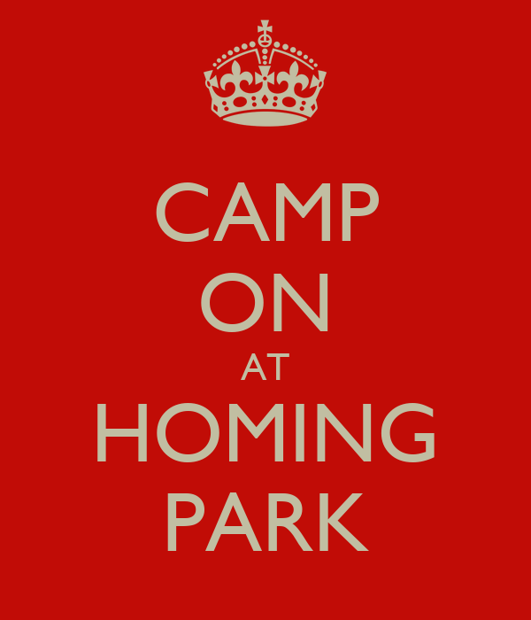 CAMP ON AT HOMING PARK