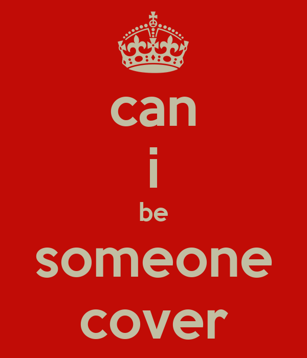 can i be someone cover