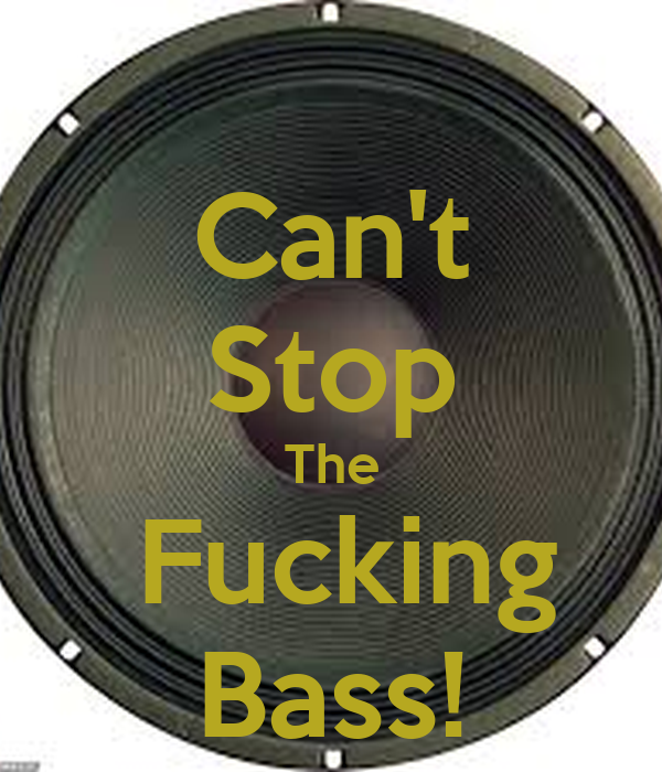 Can't Stop The  Fucking Bass!
