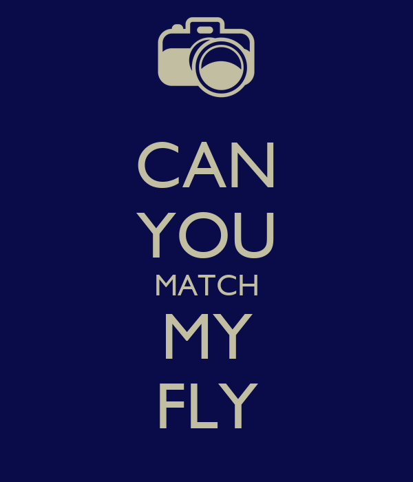 CAN YOU MATCH MY FLY