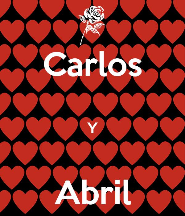 Carlos  Y  Abril
