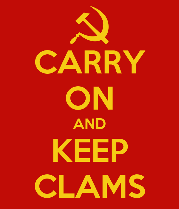 CARRY ON AND KEEP CLAMS