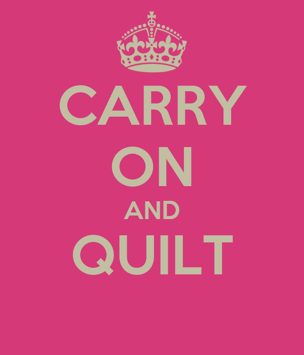 CARRY ON AND QUILT