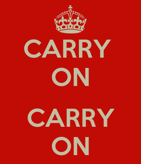 CARRY  ON  CARRY ON
