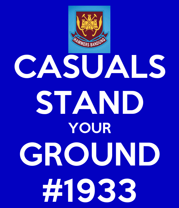 CASUALS STAND YOUR GROUND #1933