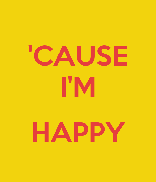 Songtext von Pharrell Williams - Happy Lyrics