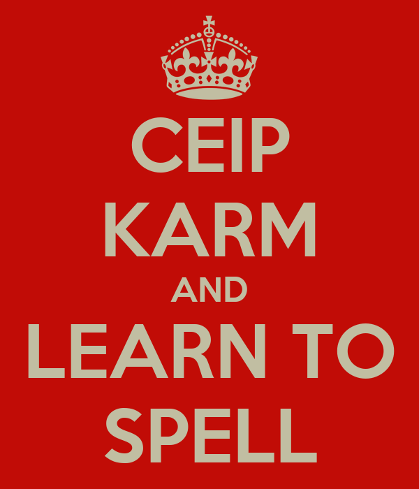 CEIP KARM AND LEARN TO SPELL