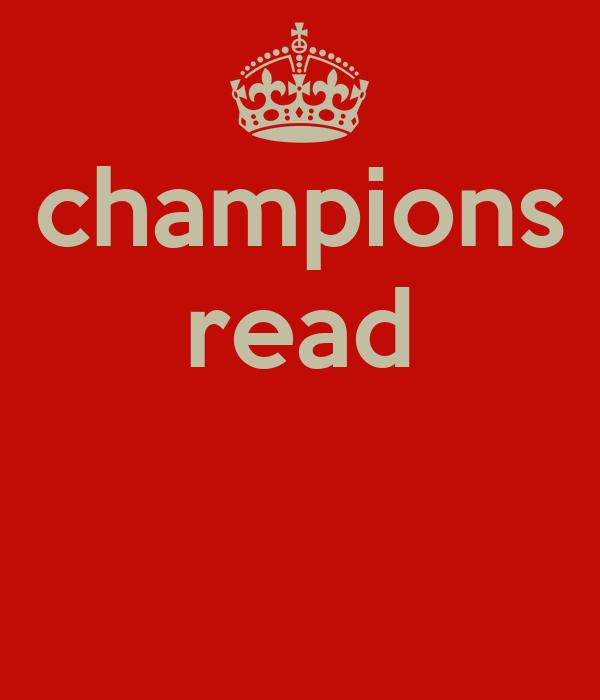 champions read