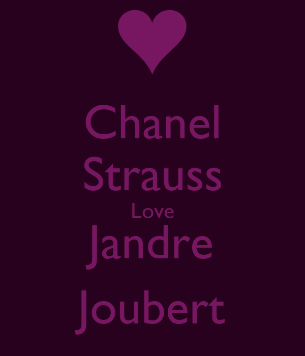 Chanel Strauss Love Jandre Joubert