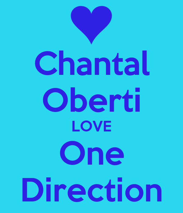 Chantal Oberti LOVE One Direction