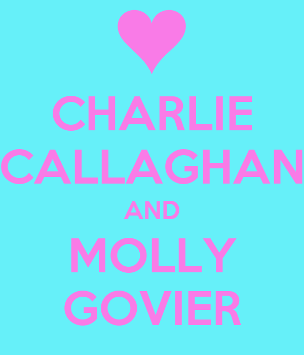 CHARLIE  CALLAGHAN  AND MOLLY GOVIER