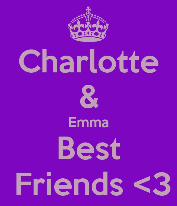 Charlotte & Emma Best  Friends <3