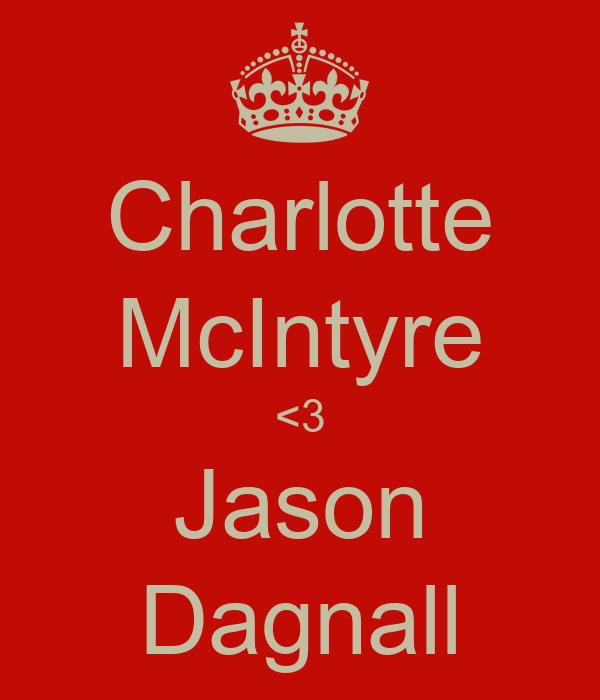 Charlotte McIntyre <3 Jason Dagnall