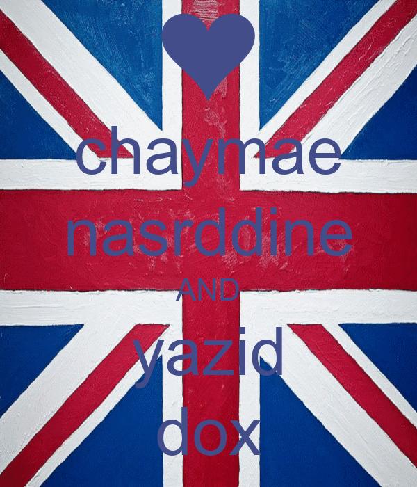 chaymae nasrddine AND yazid dox