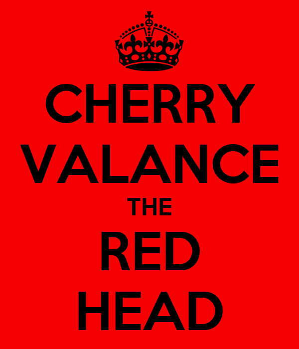 CHERRY VALANCE THE RED HEAD