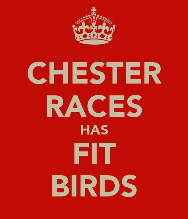 CHESTER RACES HAS FIT BIRDS