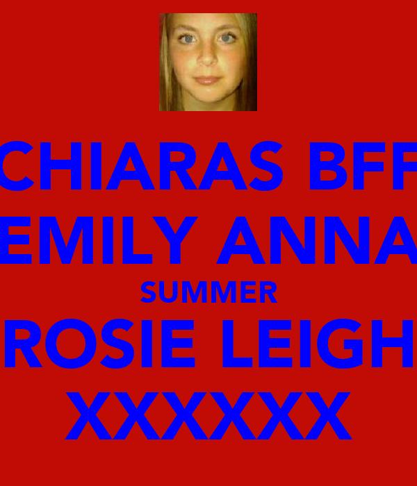 CHIARAS BFF EMILY ANNA SUMMER ROSIE LEIGH XXXXXX