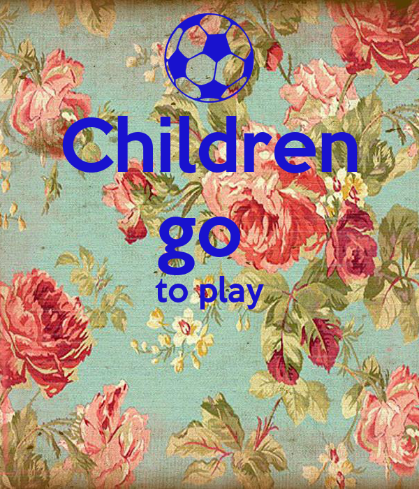 Children go  to play
