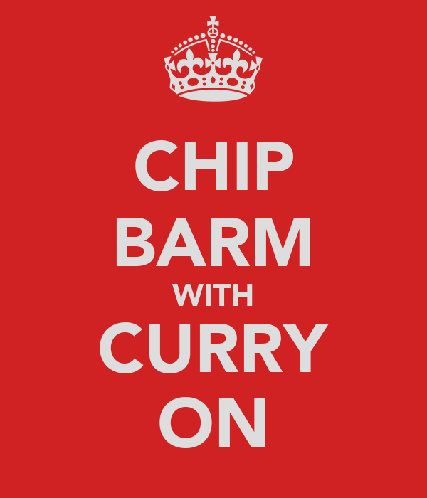 CHIP BARM WITH CURRY ON