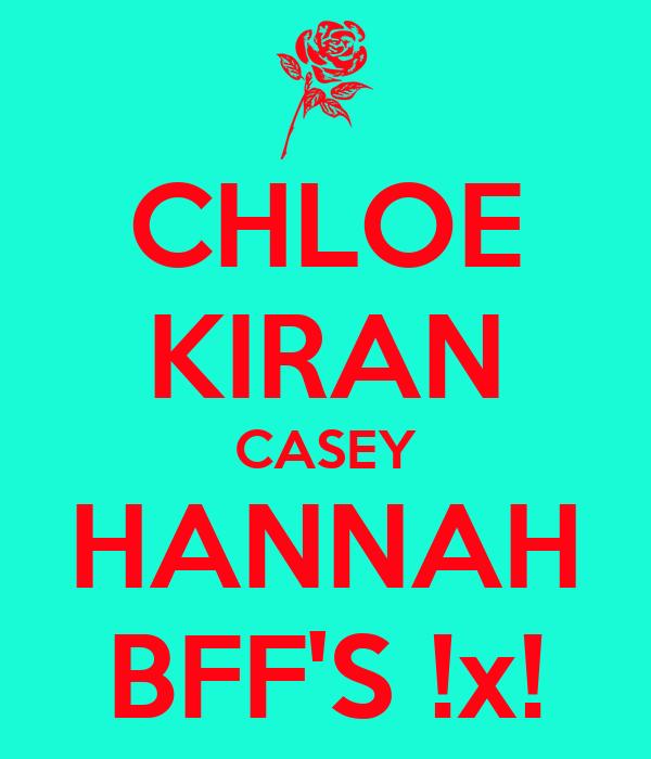 CHLOE KIRAN CASEY HANNAH BFF'S !x!