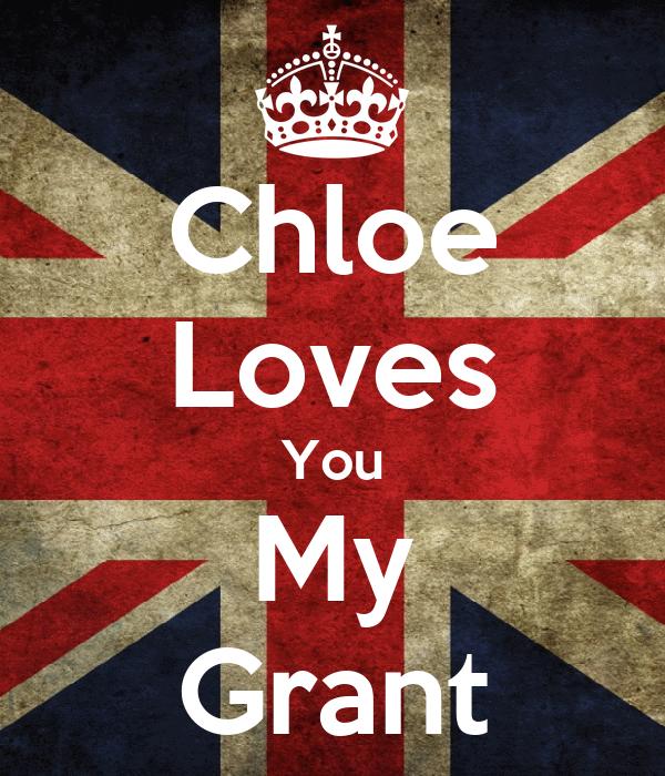 Chloe Loves You My Grant