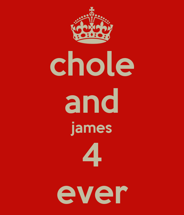 chole and james 4 ever