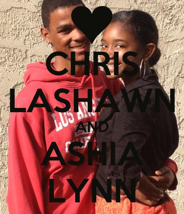 CHRIS LASHAWN AND ASHIA LYNN