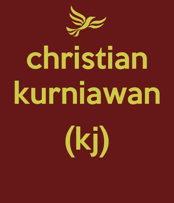 christian kurniawan  (kj)