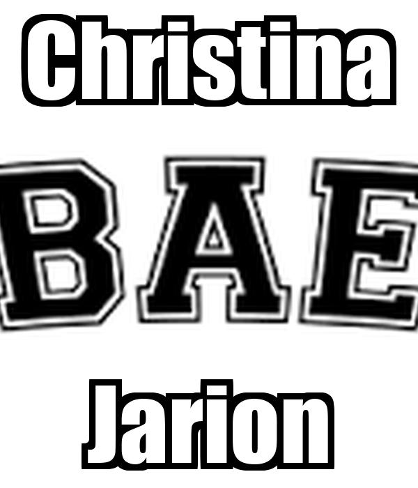 Christina Jarion
