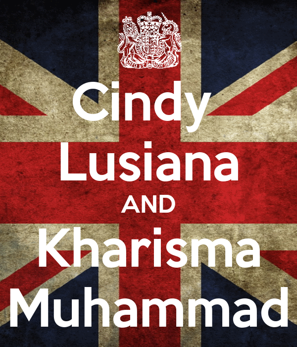 Cindy  Lusiana AND Kharisma Muhammad