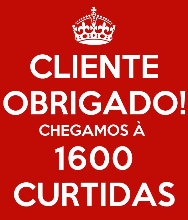 CLIENTE OBRIGADO! CHEGAMOS À  1600 CURTIDAS